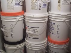A Frugal Source for Food Grade Buckets