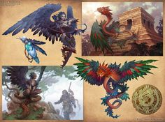 Mythical Monsters by D8P on DeviantArt