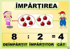 Împărțirea 1st Day Of School, School Staff, Algebra, Little Einsteins, Education Quotes, Classroom Decor, Kids And Parenting, Coloring Pages, Clip Art