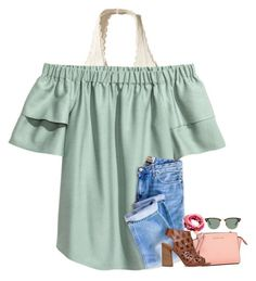 """""""~salt in the air & sand in my toes~"""" by im-a-mermaid ❤ liked on Polyvore featuring Hollister Co., Michael Kors, Carvela, Good Charma, Ray-Ban, keeppraying, prayersforT, prayingforT and prayforT"""