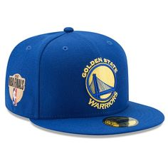 4c16d21cd72 Men s Golden State Warriors New Era Royal 2018 Western Conference Champions  Side Patch 59FIFTY Fitted Hat