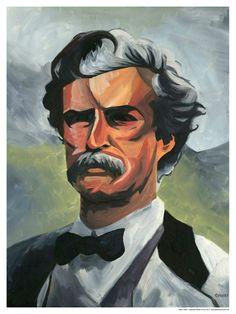 ... Mark Twain.