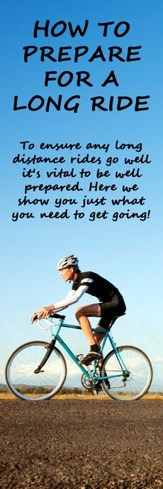 .What do you take with you on a long ride? http://thecyclingbug.co.uk/how-to/b/videos/archive/2014/01/23/how-to-prepare-for-a-long-ride.aspx?utm_source=Pinterest&utm_medium=Pinterest%20Post&utm_campaign=ad #cycling #bike #bicycle