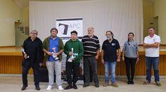 Torneios de Xadrez na Cela 2017 - 88 jogadores inscritos -Cister FM-