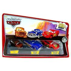 Disney / Pixar CARS Movie 1:55 Die Cast Story Tellers Collection 3-Pack Fred, Fabulous Hudson Hornet and Smell Swell Lightning McQueen by Mattel. $39.99. This Disney Cars Story Tellers collectible 3 piece set is sure to provide tons of imaginative fun!Disney Cars Storytellers set of 3 Storytellers collectionIncludes Fred, Fabulous Hudson Hornet and Smell Swell Lightning McQueenCollect them allRecommended for ages 3 and upMade by Mattel