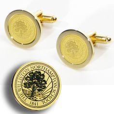 Williston Northampton School: School Spirit: Williston Cufflinks - take them to a jeweler and turn them into charms