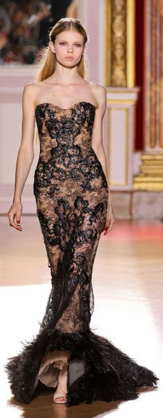Evening gown, couture, evening dresses, formal and elegant Zuhair Murad - Couture - Fall-winter 2012-2013