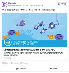 Back to results Page: Marketo What does SEO and PPC have to do with inbound marketing? Link: The Inbound Marketers Guide to SEO and PPC Learn how to achieve higher placement in search by leveraging SEO and PPC for inbound marketing. Language: English Placement: Newsfeed Desktop Industries: B2B, B2C, Education, Entertainment, Marketing, Other, Real Estate, Read more