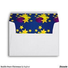 #Bauble #Stars #Christmas #Envelopes