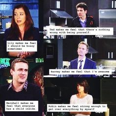 HIMYM what they taught me.