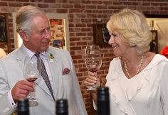 Britain's Prince Charles and Camilla, Duchess of Cornwall sample wines produced…