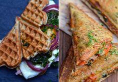 sanwiches i toaster/vaffeljern