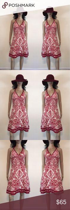 🌺 Lyndia Procanik Print Halter Dress 🌺 Lyndia Procanik Print Halter Dress Lyndia Procanik Dresses Midi