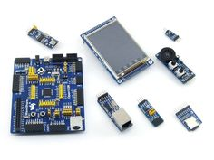 Open103R Package A STM32F103RCT6 STM32F103 STM32 ARM Cortex-M3 Development Board + 6pcs Accessory Modules + Freeshipping