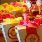 Sunshine Birthday Party Favor tag Ideas