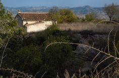 An empty old cottage in Velez Blanco, Almeria, Spain
