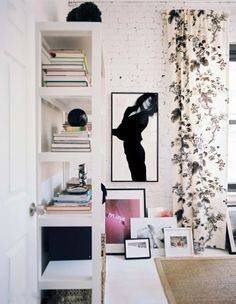 my scandinavian home: Monochrome wall space inspiration