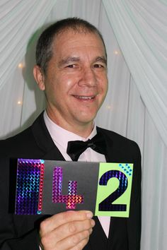 Essential Oils We Trust's Paul Pike representing Team 42 at the Ability Ball, Bundaberg.