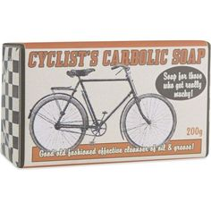 STING IN THE TAIL Cyclist's carbolic soap 200g (£8) ❤ liked on Polyvore featuring beauty products, bath & body products and body cleansers