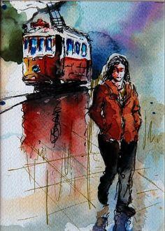 Walking in Taksim