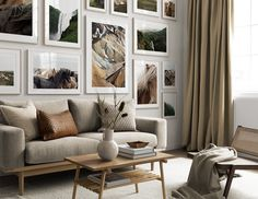 Decorate your living room with a trendy gallery wall! Find inspiration on how to decorate your living room in our Inspiration section. Upgrade your living room today with Desenio. Boho Living Room Decor, Home Living Room, Interior Design Living Room, Decor Room, Target Home Decor, Cheap Home Decor, Fotografia Fine Art, Decorating Small Spaces, Living Room Inspiration