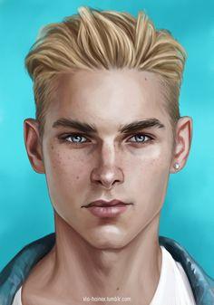 Digital Portrait, Portrait Art, Book Characters, Fantasy Characters, Character Portraits, Character Art, Boy Art, Cool Drawings, Art Sketches