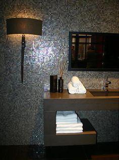 Meer dan 1000 idee n over badkamer handdoeken op pinterest badkamer handdoek opslag badkamer - Idee opslag cd ...