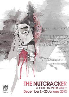 Illustration / Poster of The Nutcracker  Tam Ferns