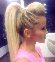 Love the side braids