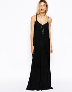 ASOS Strappy Cami Maxi Dress