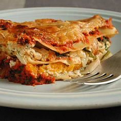 This looks interesting. Top-Rated Butternut Squash Recipes | Butternut Squash Lasagna | CookingLight.com