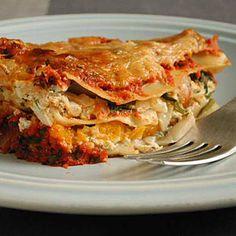 Butternut Squash Lasagna | CookingLight.com