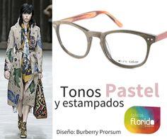 Tonos pastel y estampados. Combina tu ropa con tus gafas con Ópticas Florida #opticasflorida #Mallorca #gafas #NatureColor #moda