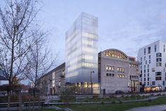 Bâtiment Voltaire, Paris 13 - UNICITE pour l'Université Denis Diderot - Antonini…