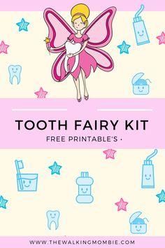 FREE Tooth Fairy Kit Printable's!