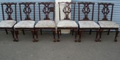 Chairs BEFORE makeover!!