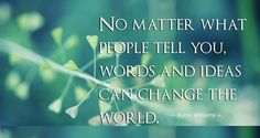 #life #quote change world