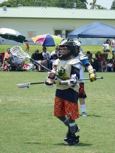 Mikey Stolzenberg, 12 year-old quad-amputee and member of the Florida Snipers lacrosse team, is inspiring his teammates, coaches, and fans.