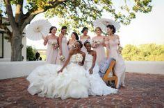 Too Pretty ~ South African winefarm wedding