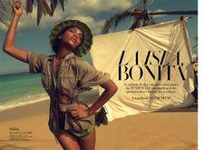 Arlenis Sosa Adds Steam to Spring 2011 Trends in Vogue Spain Editorial | POPSUGAR Fashion