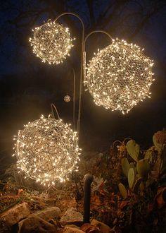 Nice Es werde Licht Funkelnde Weihnachtsdeko Ideen mit Lichterketten