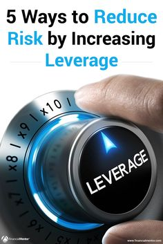 Many people think that leverage is inherently risky, because they associate it with financial leverage. But there are 5 other types of leverage that actually reduce your risk and allow you to earn more with less of your resources. Learn what they are! Financial Literacy, Financial Goals, Consumer Marketing, Wealth Affirmations, Investment Advice, Retirement Planning, How To Get Rich, Speech And Language, Money Management