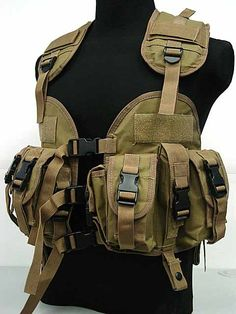 Neutral Waterproof Protective Tactical Vest Outdoor CS Equipment Seal 97