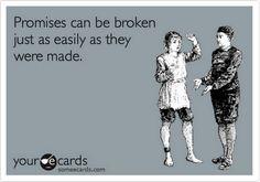 Promises..