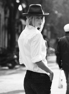B/W #Borsalino beauty.