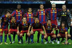 FC Barcelona, squad 2011. Best football team  i´ve ever seen.