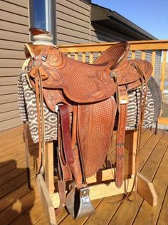 """Bob Kaufman 16.5"""" Wade Saddle for Sale - For more information click on the image or see ad # 31569 on www.RanchWorldAds.com"""