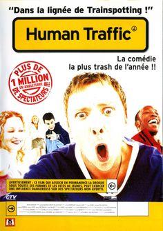 Human Traffic Human Traffic, Film, Shit Happens, Movies, Movie Posters, Design, Movie, Films, Film Stock