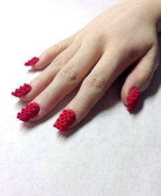 Thanks to #3Dprinting, your manicure will never be the same! #beauty