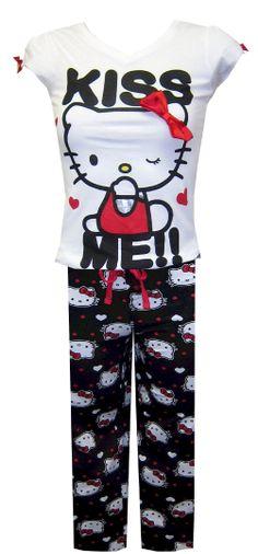 Hello Kitty Kiss Me Sleep Set